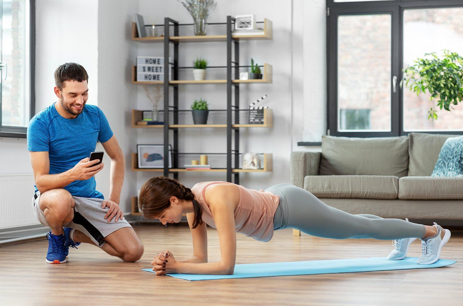 Effektives Hometraining: Six Pack