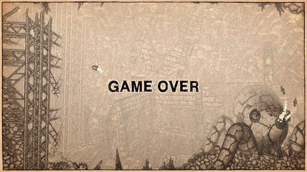 Earth Atlantis Game Over