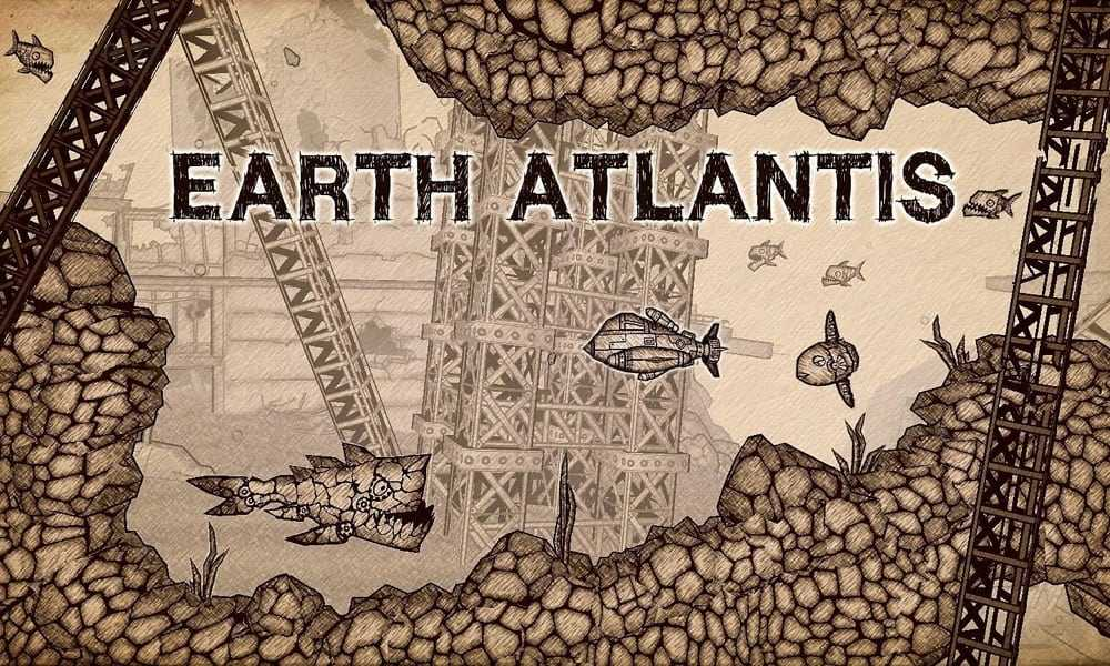 Earth Atlantis für Nintendo  Weltuntergang im U-Boot