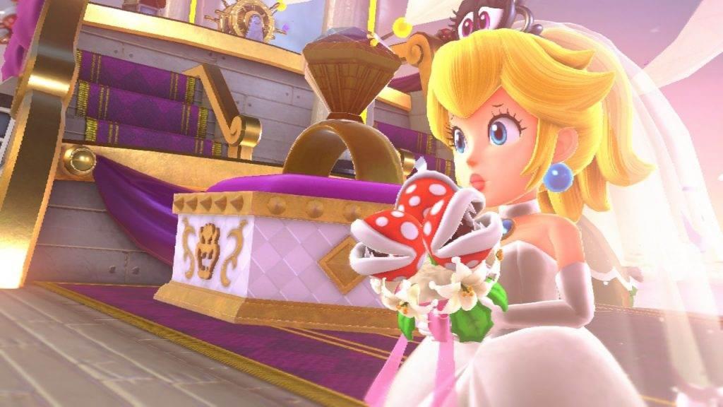 Super Mario Odyssey Peach entführt