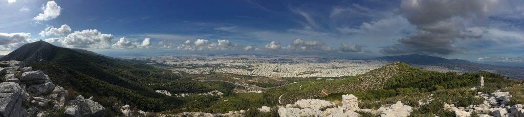 Berg Hymettus Panorama