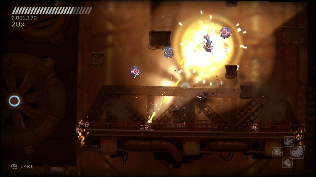 RIVE: Ultimate Edition Switch action