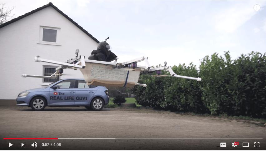 Mal k Projekt von Elon Musk   Badewannen-Drohne
