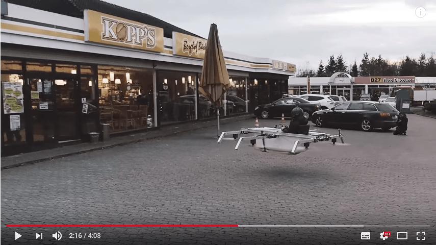 Badewannen-Drohne