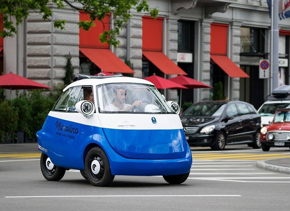 Microlino   Kugelrundes Elektroauto mit Isetta-Charme