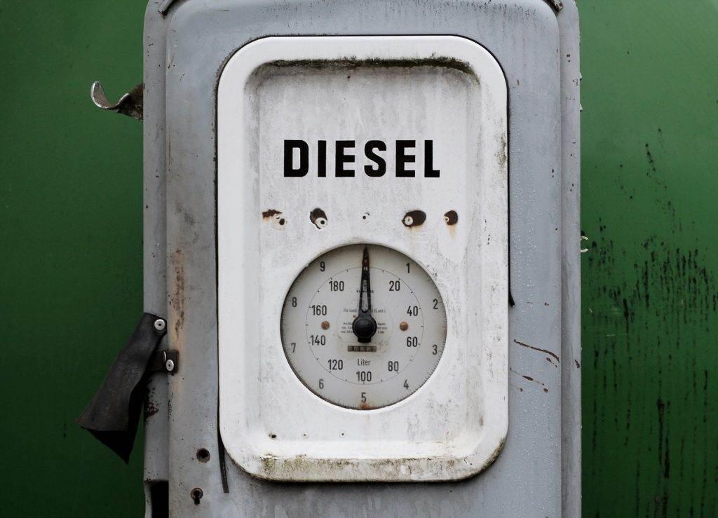 Neuwagenblase Diesel