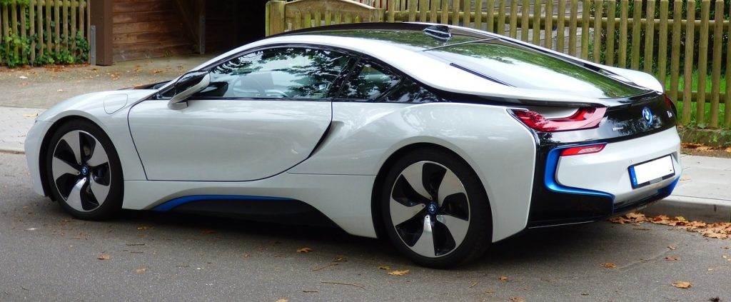 Neuwagenblase Elektroauto