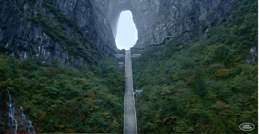 Dragon Challenge Himmelstreppe