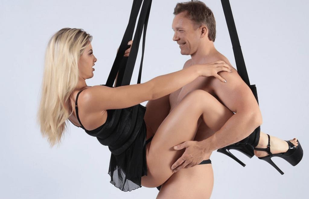 Sex Mit Liebesschaukel
