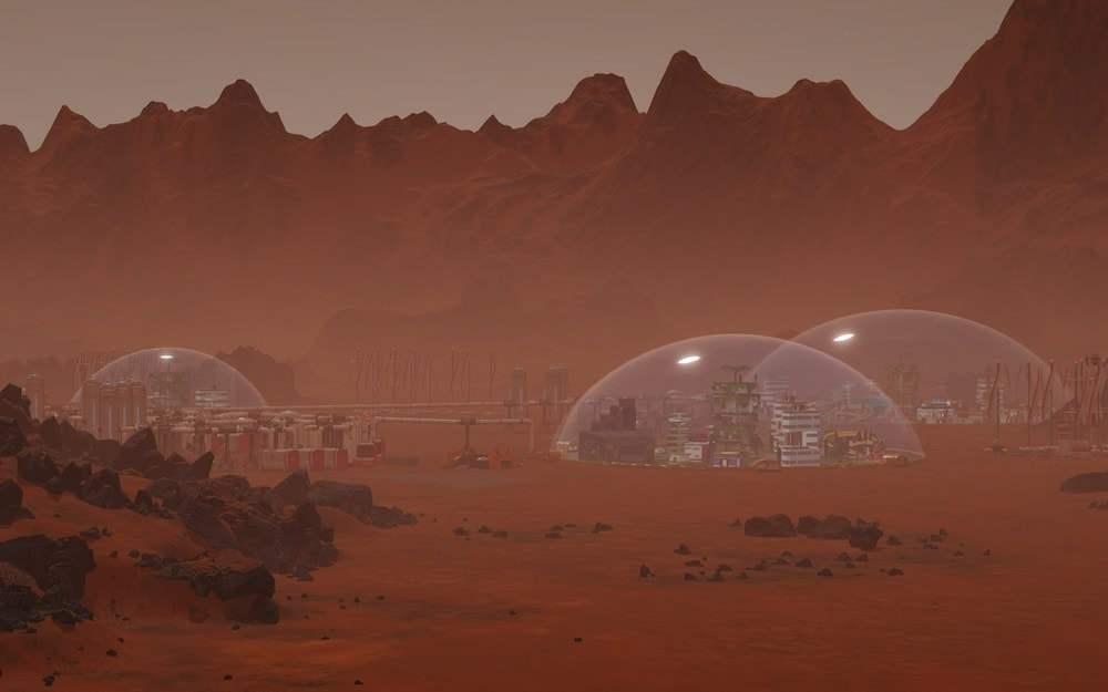 Surviving Mars Schwierigkeitsgrad Ressourcen