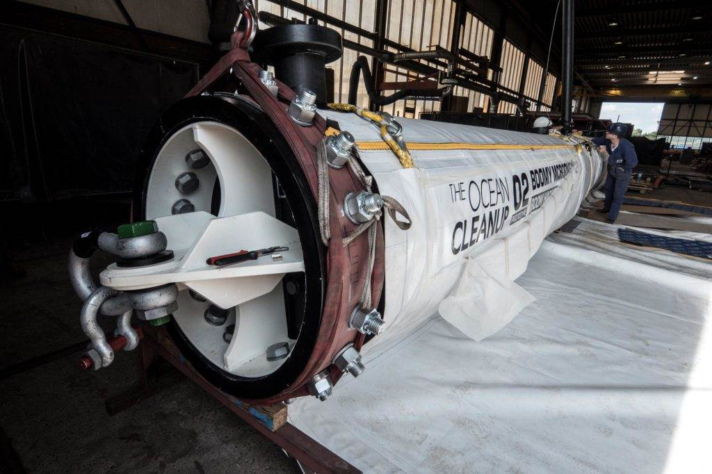 The Ocean Cleanup System