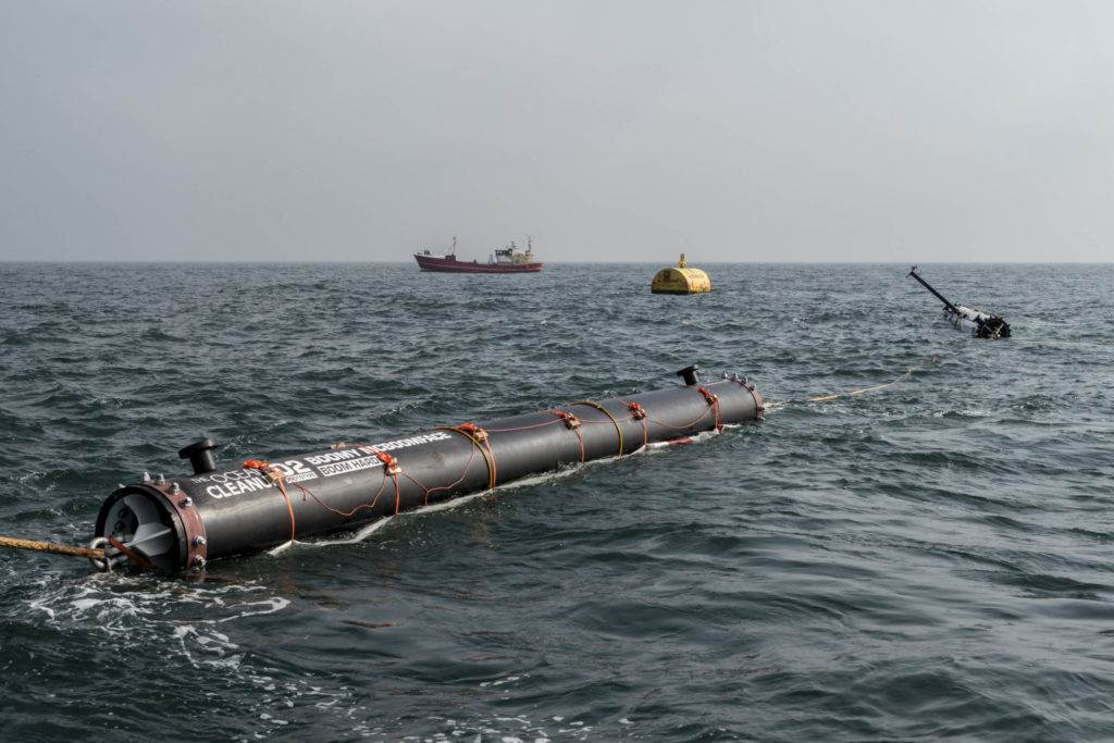 The Ocean Cleanup Prototyp