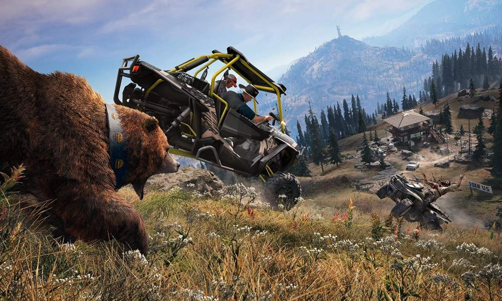 Far Cry 5 im Test  Gute alte Open-World-Action