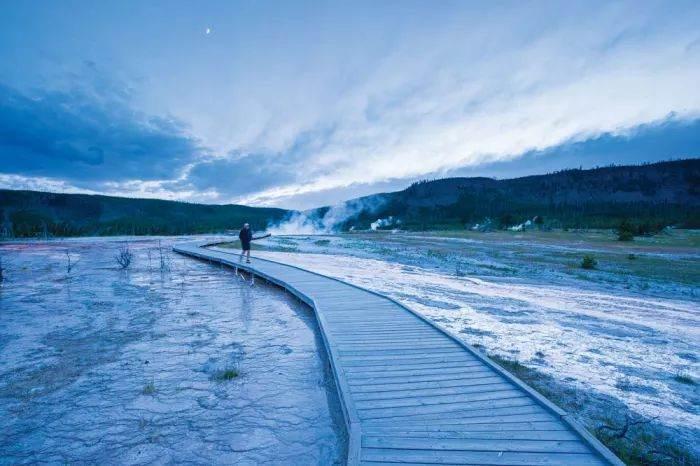 Geysir Basin Yellowstone