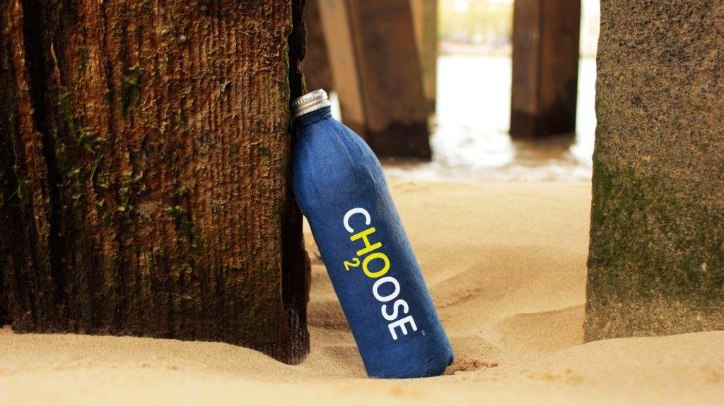 Rettet  Meere  Öko-Flasche ohne Kunststoff macht's vor