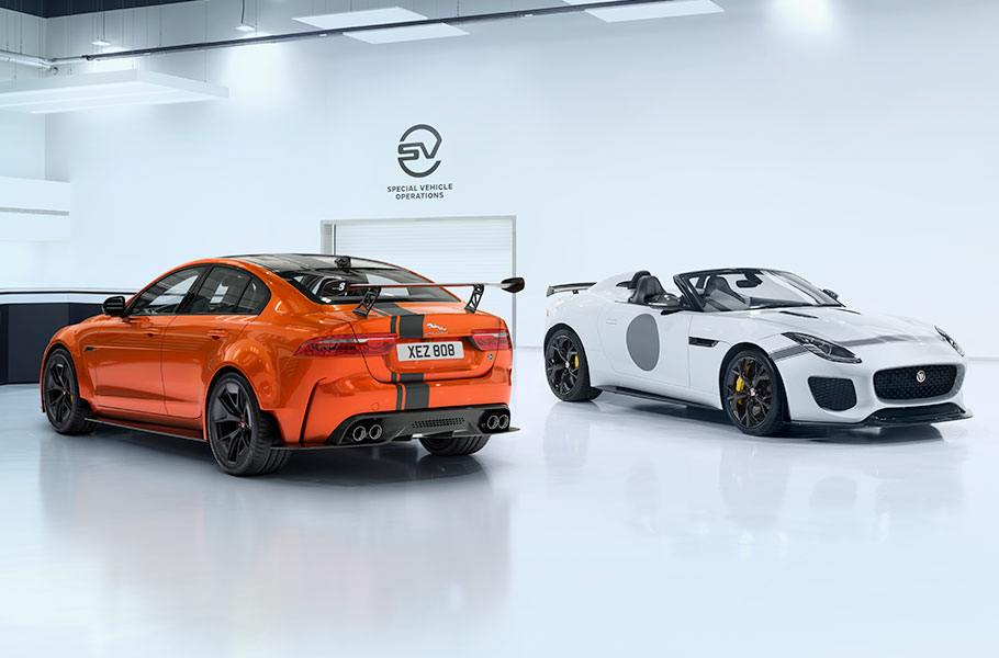 SV Project 8  Jaguars Luxuslimousine auf Steroiden