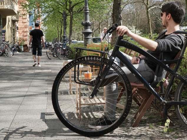 BigRep Airless Bike Tire  Lüfterloser Fahrradreifen aus dem 3D-Drucker