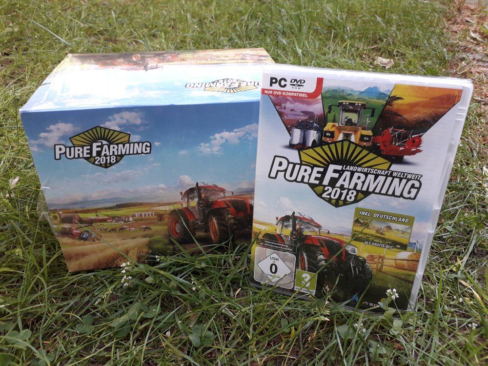 Abgefahrenes Gewinnspiel  Pure Farming 2018 mit Kress-Kit