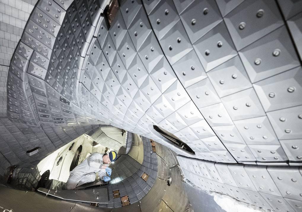 Plasmarekord  Wendelst 7-X Fusionsreaktor legt  Messlatte höher