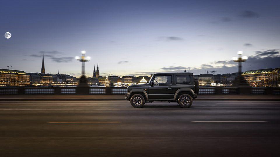 Suzuki Jimny  Safari-Feeling jetzt auch in  Großstadt
