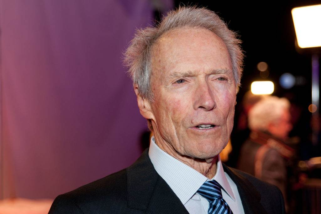 SACRAMENTO CA - DECEMBER 8: Clint Eastwood arrives at the California Hall of Fame ceremonies at the Sacramento Memorial Auditorium in Sacramento California on December 8 2011
