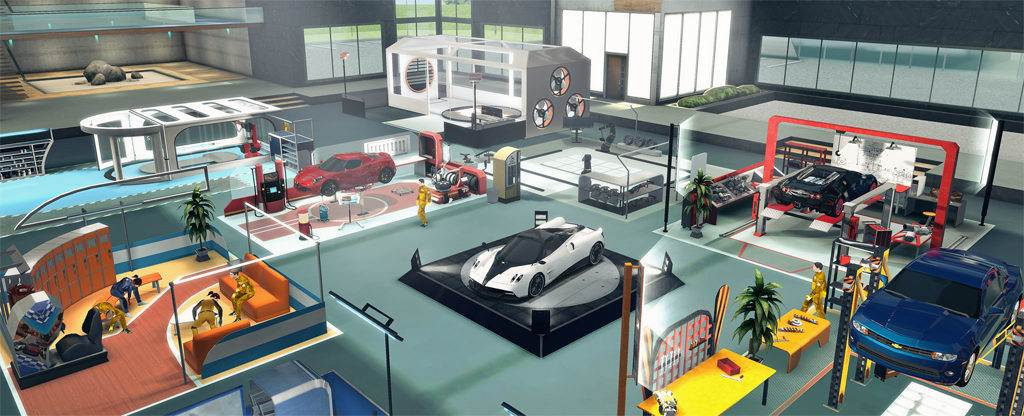 Switch  Gear.Club Unlimited 2 – Neuer Trailer zum Performance Shop
