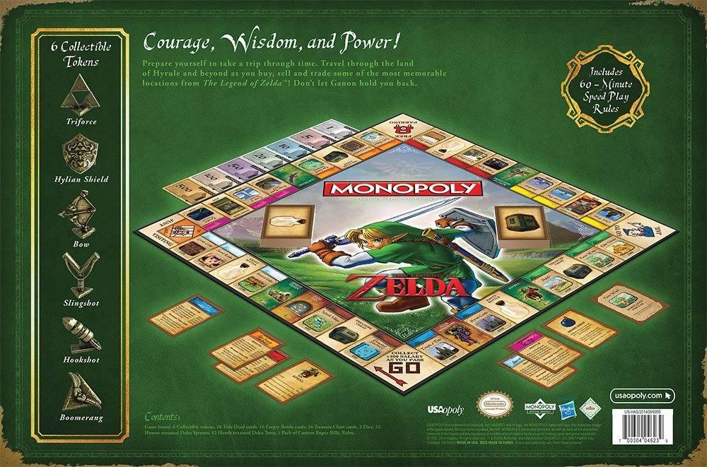 Zelda Monopoly  Eine Reise in  verwunschene Welt unserer Kindheit