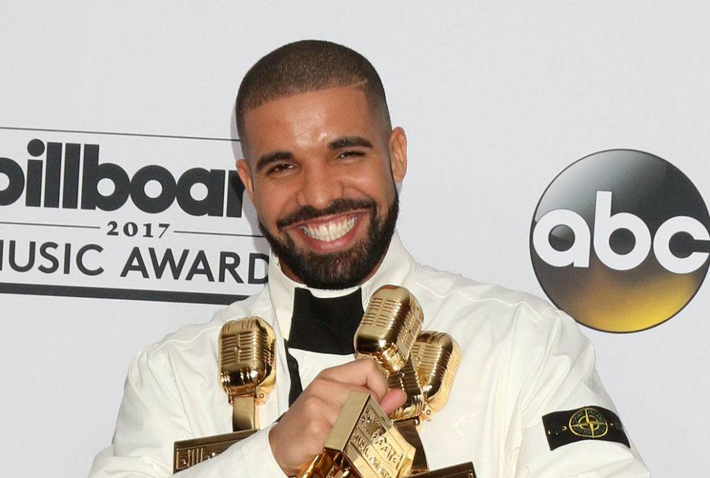 LAS VEGAS - MAY 21:  Drake at the 2017 Billboard Awards Press Room at the T-Mobile Arena on May 21, 2017 in Las Vegas, NV