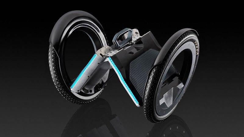 UrmO   faltbare E-Roller aus München von Ex-Ingenieuren von Tesla und BMW