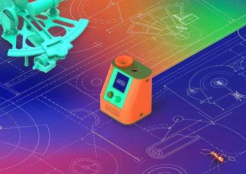 GPS-Alternative Aweigh leitet dich mit  Sonne zum Ziel