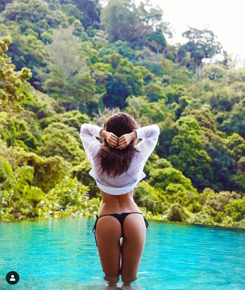 Irina Dreyt   heißeste Urlauberin  Welt