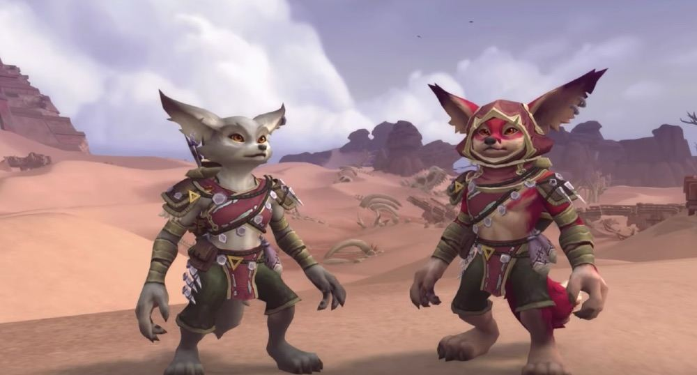 World of Warcraft  Mit dem nächsten Patch kommen zwei neue, verbündete Völker
