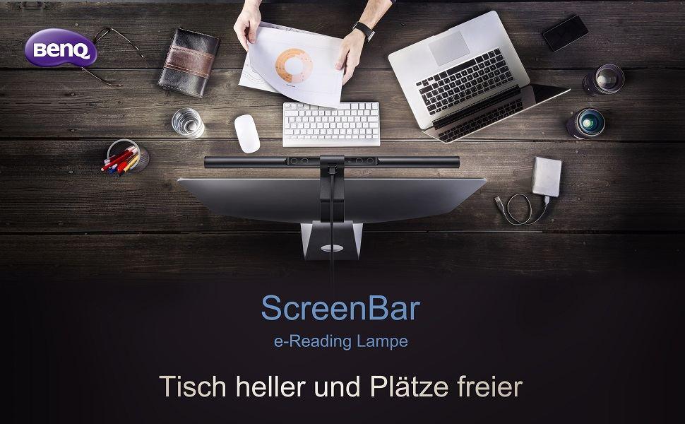 BenQ ScreenBar  So geht deinem Arbeitsplatz  Licht auf!