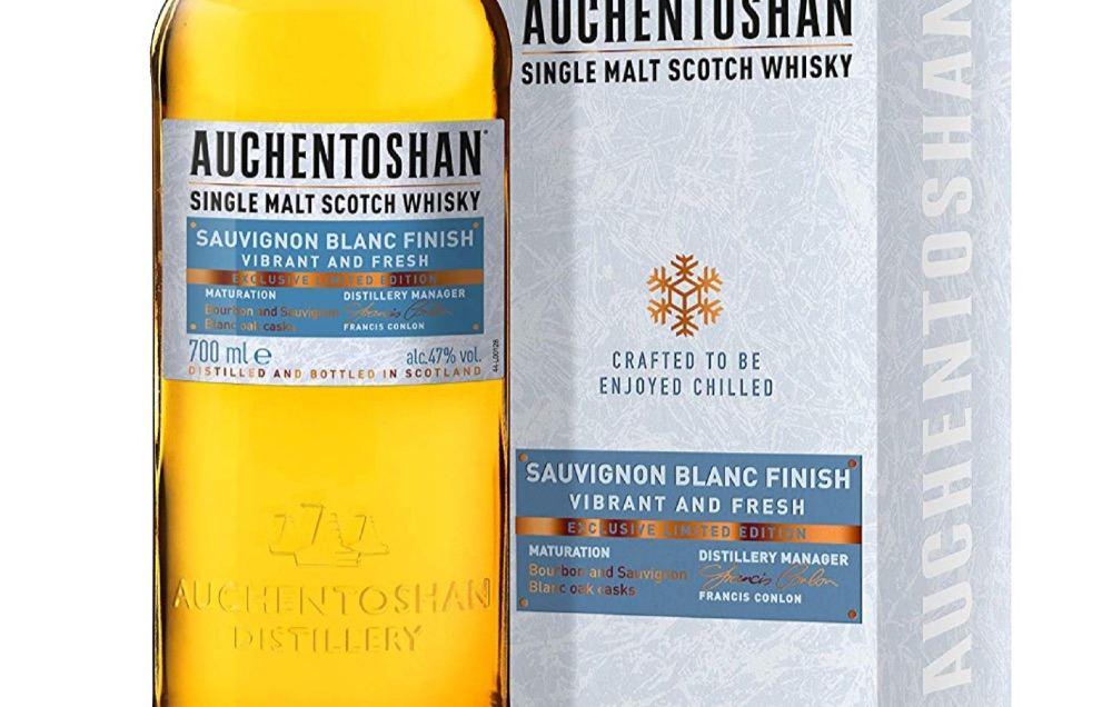 Whisky auf Eis? Auchentoshan Sauvignon Blanc Single Malt Scotch Whisky macht's möglich